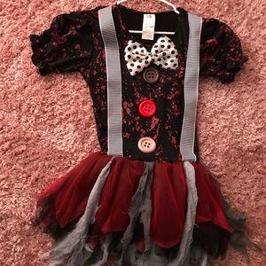 Nerd killer clown costume